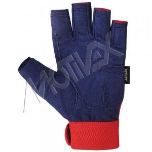 motivex blue sailing gloves 8673-11 front