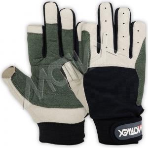 Motivex Sailing Gloves Navy Long Finger-8644-00